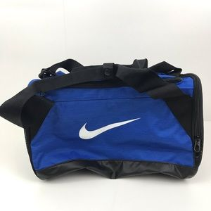 New Nike Small Blue multi-pocket Gym Duffel Bag